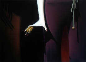 Frozen, 130-180 cm, 2002, oil on canvas