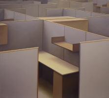 Cubicals, 2011,180-160 cm, oil on canvas.