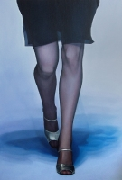 Catwalk 2, 140  210 cm, 2002, oil on canvas